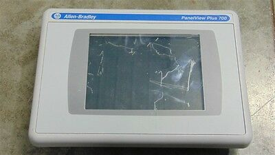 USED Allen Bradley 2711P-RDT7C/C PanelView Plus 700 Color Touch Display Module