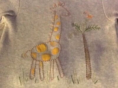 Baby Gap 3-6 Months Giraffe Outfit Footed Long Sleeve Boy Girl Unisex
