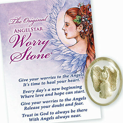 AngelStar Courage Resilient Hurt Worry Pocket Purse Stone Token 8716