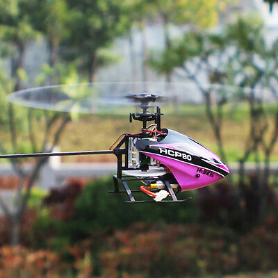 Hisky HCP80 V2 3D 6CH 3Axis 6Axis Gyro RC Helicopter BNF