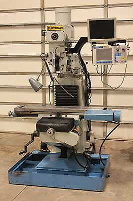 "SuperMax CNC-20 Vertical CNC Milling Machine 48"" x 9"" Variable Speed 2 Axis CNC"