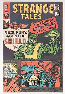 Strange Tales #135 1st Nick Fury Agent Of SHIELD 1st Hydra 1965 VG/FN