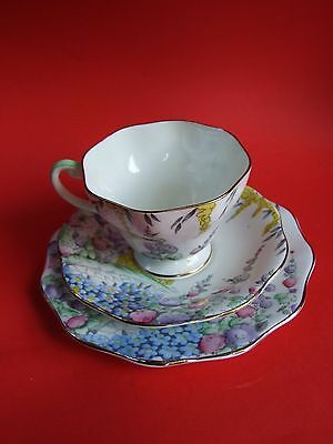 Vintage Foley Bone China Trio Set Cup /Saucer /Plate