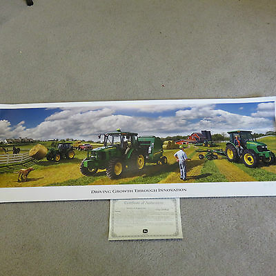 "2008 Limited Edition John Deere ""Driving Growth Through Innovation"" Print"