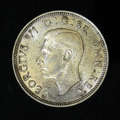 1941 Great Britain Shilling silver coin Uncirculated UNC