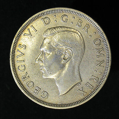 1937 Great Britain Crown silver coin
