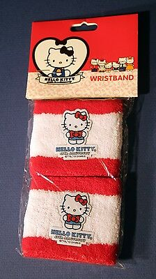 NWT Hello Kitty 40th anniversary wristbands 2 pack cute
