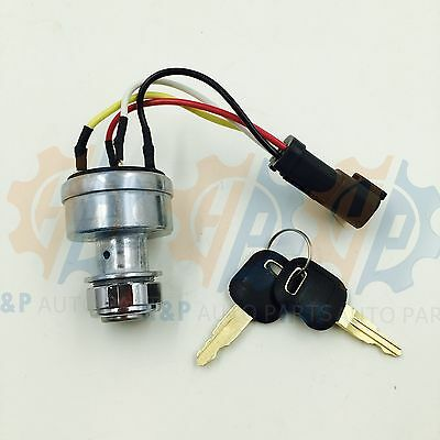 142-8858 New Ignition Switch With 2Keys Fits Caterpillar 257B Cat D6T 247B D6R
