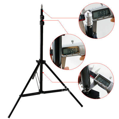 2.1M Light Stand Tripod Support For Photo Studio LED Ring Light 1/4 Standard