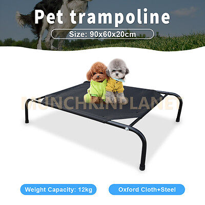 Oxford Cloth Dog Heavy Duty Pet Lay Bed Cot Trampoline Hammock Bed Cat Puppy