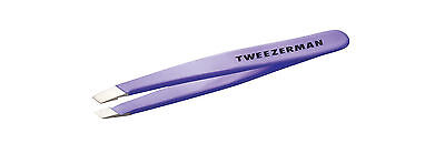 Tweezerman Mini Slant Tweezer Small Slanted Tip Lavender PURPLE