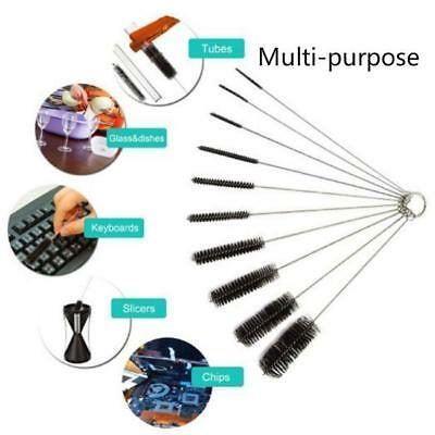 10Pcs Stainless Steel Small Mouth Bottle Cleaning Brush Kitchen Cleaning Tools