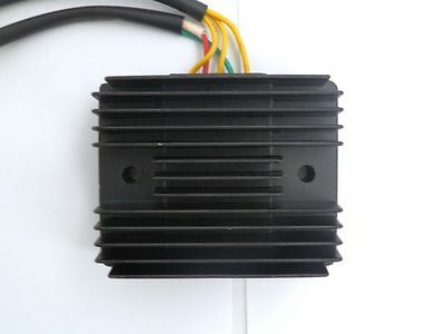 GY6 250 Chinese Scooter Moped 5 wires 2 Plug Voltage Regulator Rectifier
