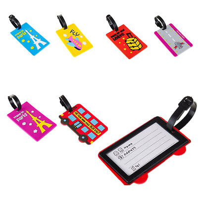 Tag Portable Suitcase Luggage 2016 Luggage ID Card Large Travel Secure Label