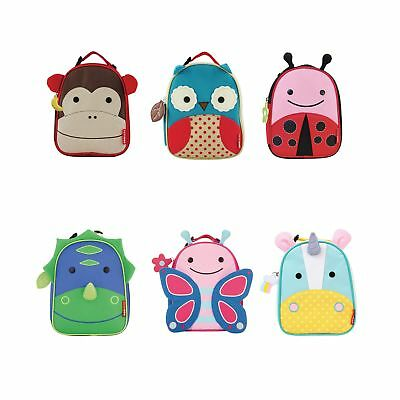 Skip Hop Zoo Lunchies Insulated Kids / Child Travel / School Lunch Bag