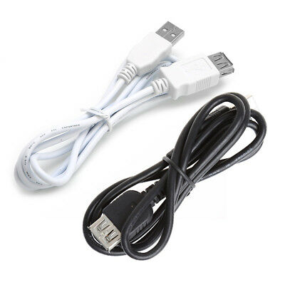 USB 2.0 Type A Female to A Male Cable Cord Extender Extension Cable For Phones