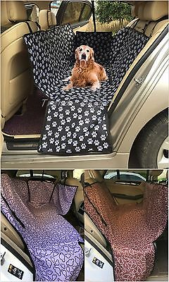 Dog Cat Pet Car Seat Cover Rear Back Mat Cushion Protector Waterproof Hammock