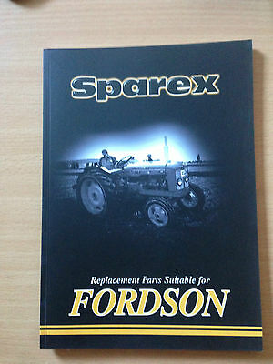 Sparex Fordson Major's and Dexta Parts Book
