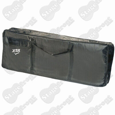 KEYBOARD CARRY BAG 10mm PADDED BLACK NYLON WATERPROOF YARN WITH SHOULDER STRAP