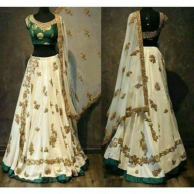 party wear wedding lehenga Designer Indian Latest Bollywood lengha choli set_v9
