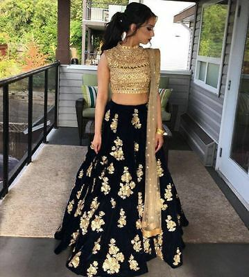 Indian Designer wedding lehenga party wear Latest Bollywood sarilengha choli set