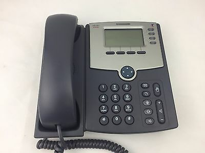 Cisco - SPA504G - LCD Display - Telephone - Phone - Corded -
