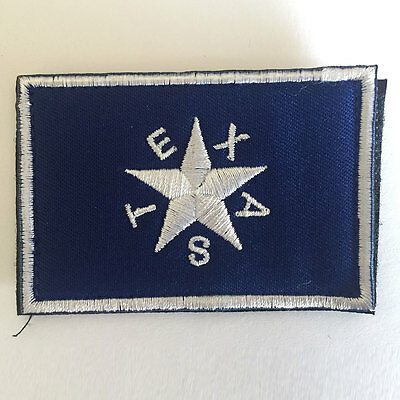 Texas Revolution 1st Lone Star Republic Flag Embroidered Tactical Morale Patch