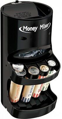 Motorized Coin Sorter Machine Change Counter With Money Rolling Wrappers NEW