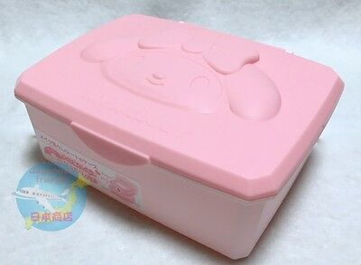 Brand-NEW SANRIO My Melody KAWAII Small Box with Hinged Lid Wet Tissue Case