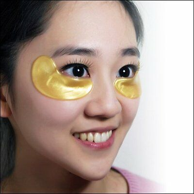 5 Pair Collagen EYE Crystal GOLD Masks Premium Eye Anti Ageing Wrinkle Skin Care