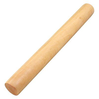 Wooden Flour Dough Rolling Pin Roller Stick 9.2 Inch Length Wood WD