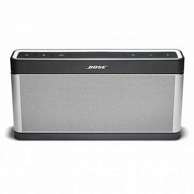 Bose SoundLink 3 Wireless Bluetooth Speaker III - Silver