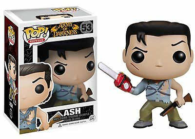 Funko Pop! Movies Figure #53 Ash From Evil Dead Army Of Darkness IN HAND MIB