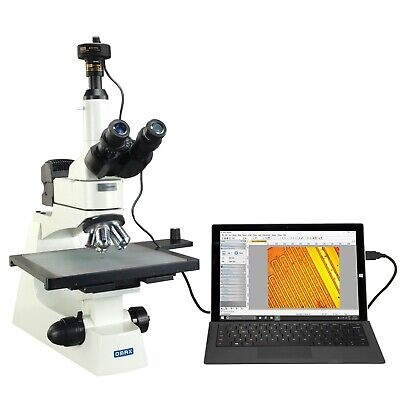 OMAX 40X-400X 10MP Digital Semiconductor Inspection Infinity PLAN Microscope