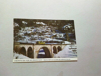 Carte Postale  Funniculaire Train Tramway - Nice Digne-