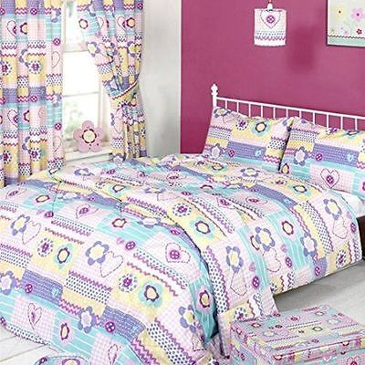 Piccolo Patchwork Duvet Cover & Pillowcase Set, Multi, Double