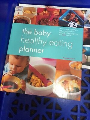 Baby Healthy Eating Planner by Grant Amanda (Hardback, 2005)