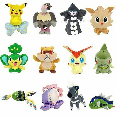 Nintendo Pokemon Character Plush Soft Toy Stuffed Animal Figure Rare Optional