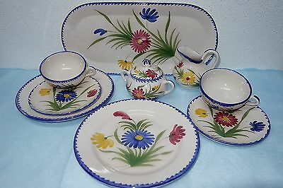 St Clement FRANCE Hand Painted - Kaffee- Teeservice - zur Auswahl