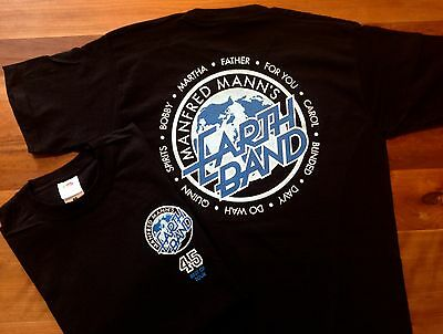 Manfred Mann's Earth Band Official Tour T Shirt Sizes M - XXL
