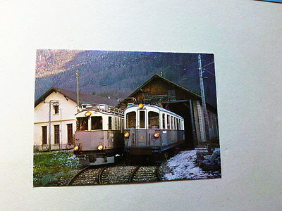 Carte Postale  Funniculaire Train Tramway -Montreux Vevey