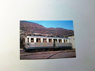 Carte Postale  Funniculaire Train Tramway - Montreux Vevey