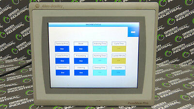 "USED Allen Bradley 2711P-T10C21D8S PanelView Plus 7 10"" Operator Interface"