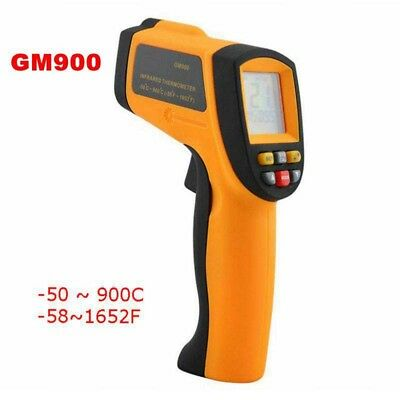 GM900 Non-contact High Thermometer LCD IR Digital Laser Infrared  -50°C~900°C