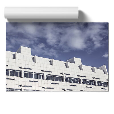 Poster Print Wall Art Architecture Building 1 Landscape Modern Buildings Décor