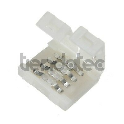 Conector Empalme Tira Led Rgb 10Mm 4 Pin