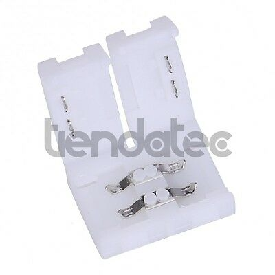 Conector Empalme Tira Led 8Mm 2 Pin