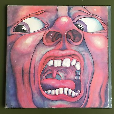 King Crimson - In The Court - Pink Label Island LP