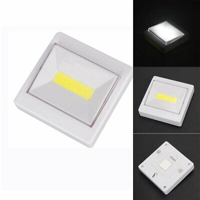 Wireless COB LED Closet Light Magnetic Stick on Wall Bed Night Torch Lights New