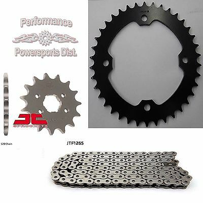 Can-Am Ds250 Sprocket & O-Ring Chain Set 15/38  06 - 17